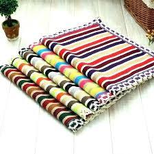 washable cotton rug washable cotton rugs washable cotton rugs for kitchen woven rug handmade doormat kids
