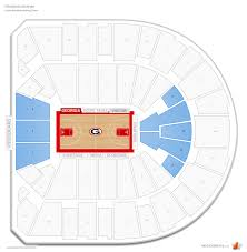 Stegeman Coliseum Georgia Seating Guide Rateyourseats Com