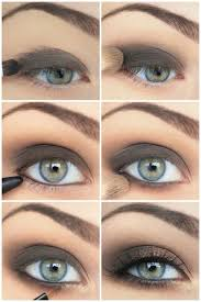 simple smokey eye you can use a shadow pencil like mufe s aqua shadow or a powder shadow either works and blend