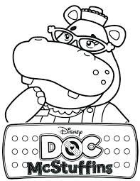 Doc Mcstuffins Coloring Pages Inspirational Page New Free Printable