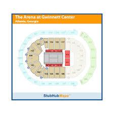 Arena At Gwinnett Center Seating Chart Infinite Energy Center Infinite Energy Arena Events And