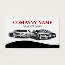 Classy Auto Sales Car Dealer Dealership Business Card | Zazzle.com