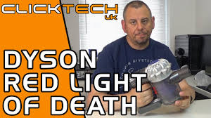 Dyson Dc59 Red Light Blinking How To Fix Dyson V6 Flashing Red Light Installing A New Battery Pack