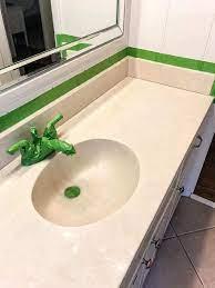 Diy Painted Bathroom Sink Countertop Bless Er House