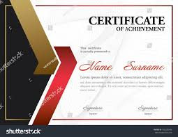 certificate templatea size diploma vector illustration stock  certificate template a4 size diploma vector illustration