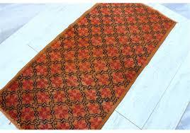 over dyed turkish vintage rug 2 5 x 5 2