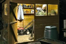 garden shed lighting ideas work and thunder garden shed lighting ideas