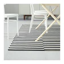 ikea black and white rug rug easy to vacuum thanks to its flat surface ikea black