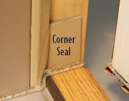 front door sealMastercraft Corner Seal Weather Strip for Exterior Doors at Menards