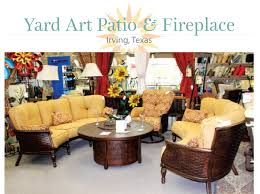 twenty years after opening the first yard art patio fireplace location butch wallace doesn t hesitate in giving credit where credit s due for the