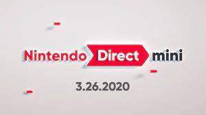 Nintendo Direct Mini - March 2020 - YouTube