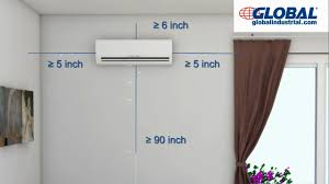 ductless ac installation. Simple Installation Global Ductless Mini Split Air Conditioner Installation V3 In Ac D