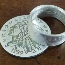 1929 Silver Incuse Indian Head Coin Rings Wedding Rings Silver Bands Jewelry 1 Troy Ounce 1oz 1 2oz 1 4oz Not Cheap Copper