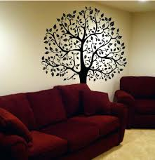pink and black wall decals wall decal big tree decor art sticker