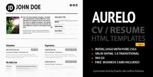resume templates impressive resume formats