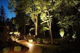 flower bed lighting. Nighttime Backyard Lighting Flower Bed I