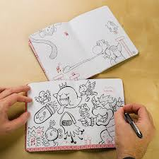 Super Mario Mini Blank Books Set Of 3 Thinkgeek