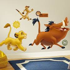 disney s the lion king giant wall stickers