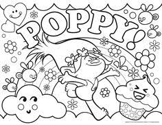 coloring book to print. Wonderful Print Trolls For Girls Satin And Chenille Together With Poppy Coloring Pages  Printable Book To Print Free Find More Online  Throughout Coloring Book To Print R