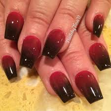 Nail Designs Red Ombre 29 Red And Black Nail Art Designs Ideas Design Trends
