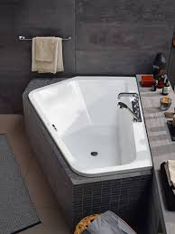 corner bathtubs for two. paiova 5 unifies the image of luxurious free-standing tub with spatial and functional advantages a corner bathtub. bathtubs for two
