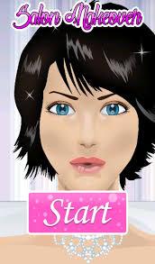 bride make up games poster