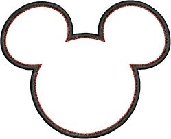 Free Mickey Mouse Face Vector, Download Free Clip Art, Free Clip Art on  Clipart Library   Mickey mouse outline, Mickey mouse, Mickey mouse head