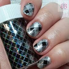24+ Silver Acrylic Nail Art Designs, Ideas   Design Trends ...