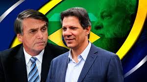 Resultado de imagen de Bolsonaro y Haddad