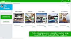 Domain Brochure Builder Overview How To And Faqs Domain