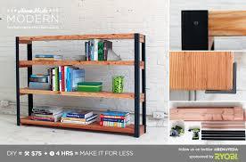 build your own bookshelf.  Own HomeMade Modern DIY EP36 Ironbound Bookcase Postcard Throughout Build Your Own Bookshelf