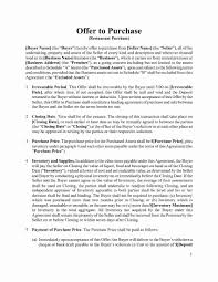 Letter Of Intent To Purchase Business Letter Intent To