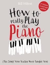 piano series how to really play the piano book cover
