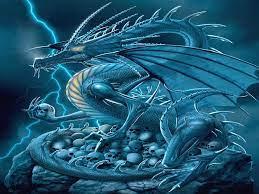 Cool Blue Dragon Wallpaper Animal ...