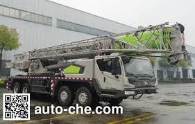Zoomlion Qy55v Zlj5423jqz55v 55t Truck Crane On Zlj5425jqzv5