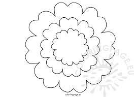 Five Petal Flower Template Yupar Magdalene Project Org