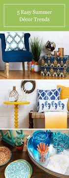 5 summer home décor trends bring the sunshine inside with simple swaps and diy projects