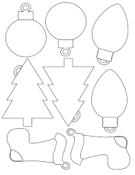 printable christmas envelope | ... for Christmas shapes for gift tags -  color and