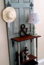 Coat Rack Door Old Door Transformed to Hall TreeCoat Rack Hometalk 2