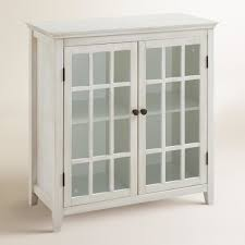 nib wood curio display cabinet glass door mirrored back wall mount