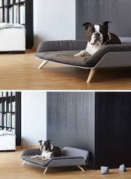 the letto daybed is a modern dog bed with plenty of style  modern