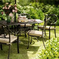 Garden metal furniture Diy Image For Cast Aluminium Metal Furniture Wayfair Outdoor Furniture Sets And Garden Benches
