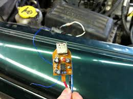 fixing a dakota durango no bus pcm for under 5 dodgeforum com common chassis ground can be grabbed from the black brown wire on the pcm