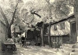 <b>Pencil Sketch</b>: Beijing's Hutong, Kuang Han's <b>Pencil Sketch</b>, <b>China</b> ...
