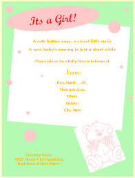 baby shower invite template word free printable baby shower invitations for microsoft word