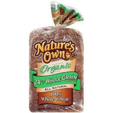 nature s own calories fat carbs and protein all natural 100 whole wheat bread