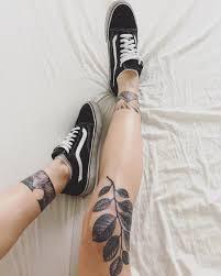 Nice красивые татуировки для девушек на ноге 50 фото большие и