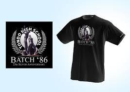 High School Batch Shirt Design T Shirt Design By Rommel Laurente At Coroflot Com