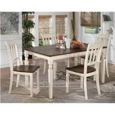 5 piece rectangular dining table set