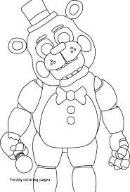 11 Unique Five Nights At Freddy Coloring Pages Coloring Page